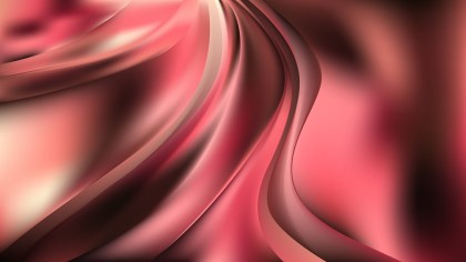 Abstract Pink and Black Wave Background Vector Illustration