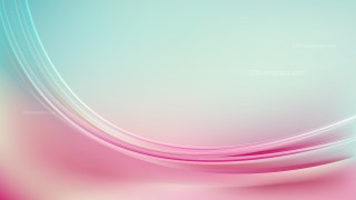 Abstract Pink and Blue Shiny Wave Background