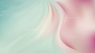 Glowing Pink and Blue Wave Background
