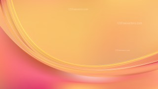 Abstract Pink and Orange Curve Background Vector Illustration