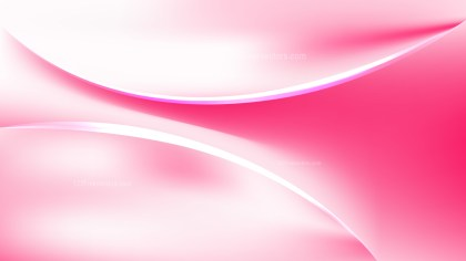Abstract Pink and White Curve Background Illustration