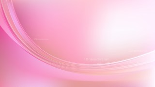 Abstract Pink and White Wavy Background Vector Graphic