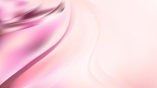 Abstract Pink and White Shiny Wave Background Vector Illustration