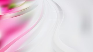 Abstract Pink and White Wave Background Vector Illustration