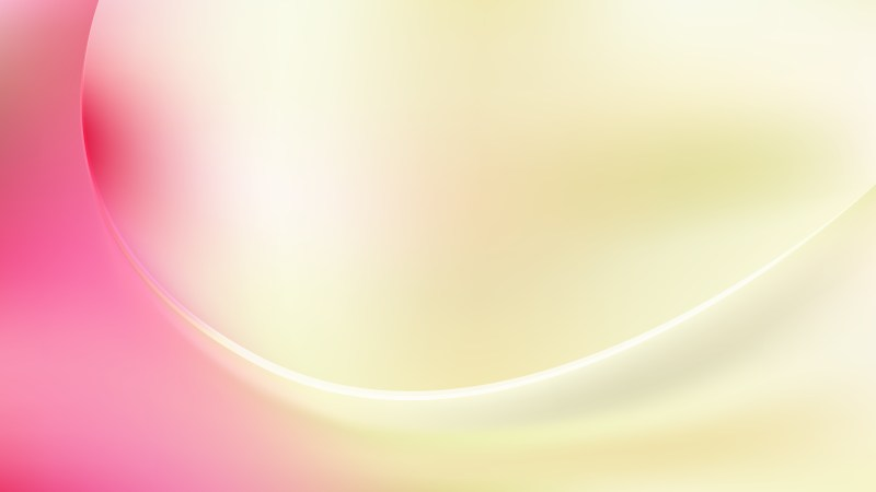 Abstract Pink and Yellow Wave Background Template