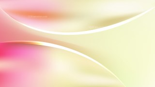 Pink and Yellow Abstract Wave Background Template Vector