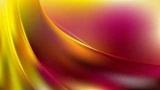 Pink and Yellow Abstract Wavy Background