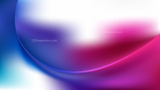 Pink Blue and White Abstract Wave Background Template Vector