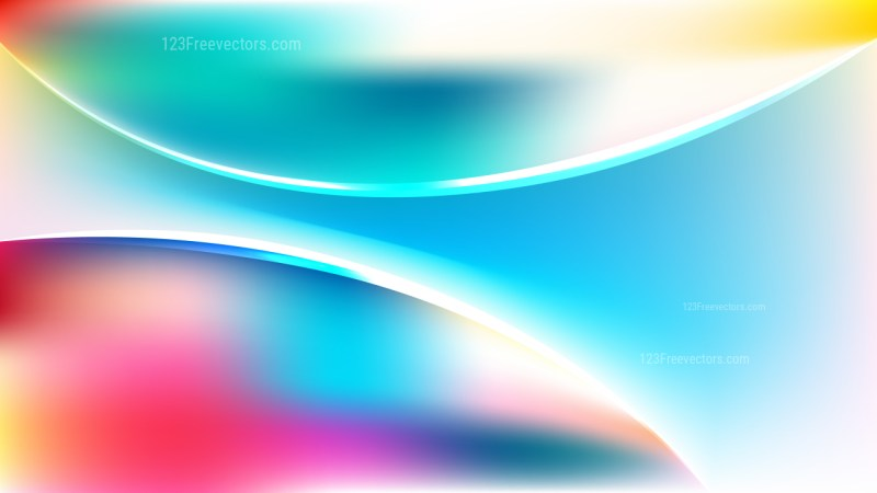 Pink Blue and White Abstract Curve Background Vector Art