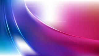 Abstract Pink Blue and White Wave Background