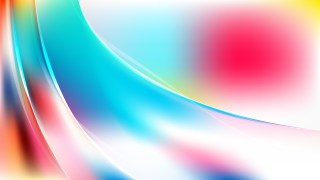 Pink Blue and White Abstract Curve Background