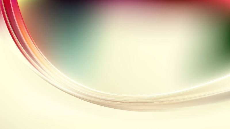 Pink Green and White Abstract Wave Background Image