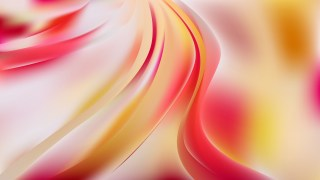 Abstract Pink Yellow and White Shiny Wave Background