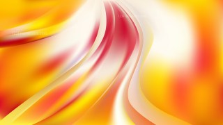 Pink Yellow and White Abstract Wave Background