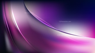 Abstract Purple Black and White Wavy Background Vector