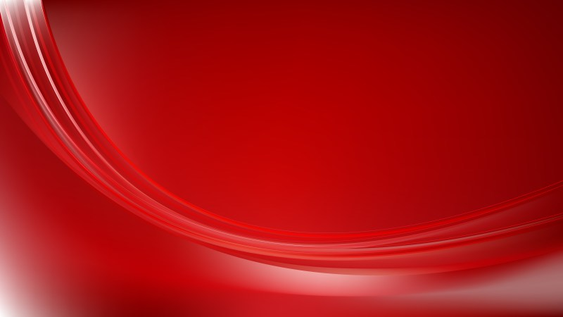 Abstract Red Curve Background Illustration