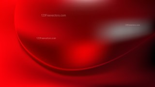 Red and Black Abstract Wave Background Template
