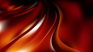 Abstract Red and Black Curve Background Vector Art