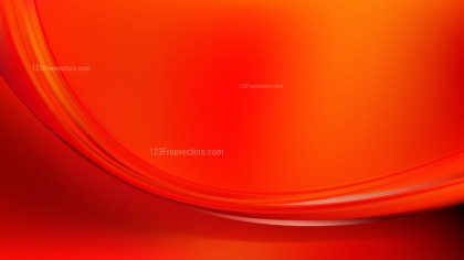 Red and Orange Abstract Wavy Background