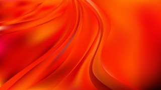 Abstract Red and Orange Wave Background