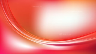 Abstract Red and White Wave Background Template Design