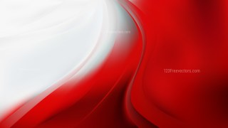 Red and White Abstract Wave Background Image