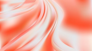 Abstract Glowing Red and White Wave Background
