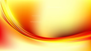 Glowing Red and Yellow Wave Background