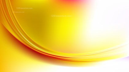Glowing Red White and Yellow Wave Background