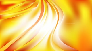Abstract Red White and Yellow Wavy Background Vector