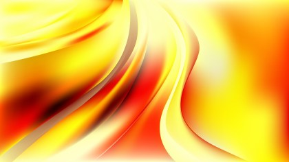 Abstract Red White and Yellow Curve Background Vector Art