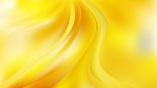 Abstract Yellow Curve Background Vector Art