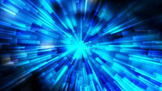 Abstract Black and Blue Sunburst Background