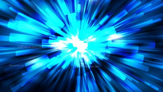 Abstract Black and Blue Radial Explosion Background