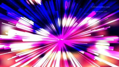 Abstract Black Pink and Blue Radial Explosion Background Image