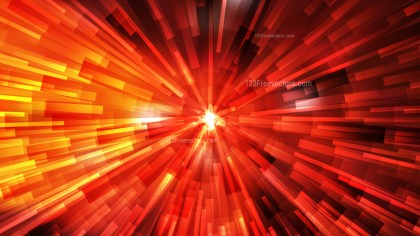 Abstract Black Red and Yellow Rays Background Vector