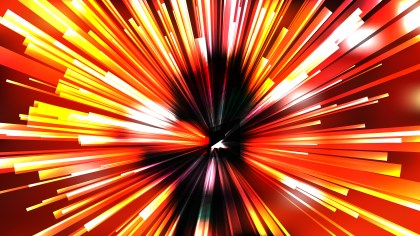 Abstract Black Red and Yellow Radial Sunburst Background
