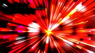 Abstract Black Red and Yellow Rays Background