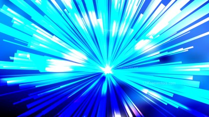 Abstract Blue Light Rays Background Vector Image
