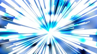 Abstract Blue and White Burst Background Illustration