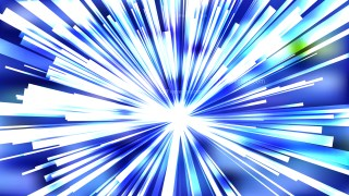 Abstract Blue and White Sunburst Background Image