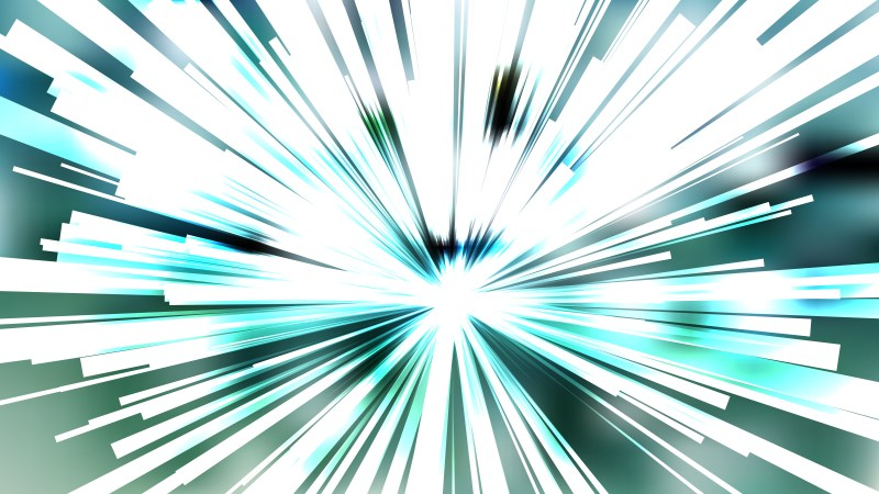 Abstract Blue and White Light Burst Background Template