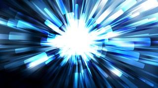 Abstract Blue Black and White Sunburst Background