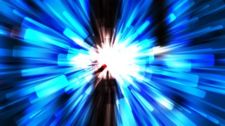 Abstract Blue Black and White Light Burst Background Graphic