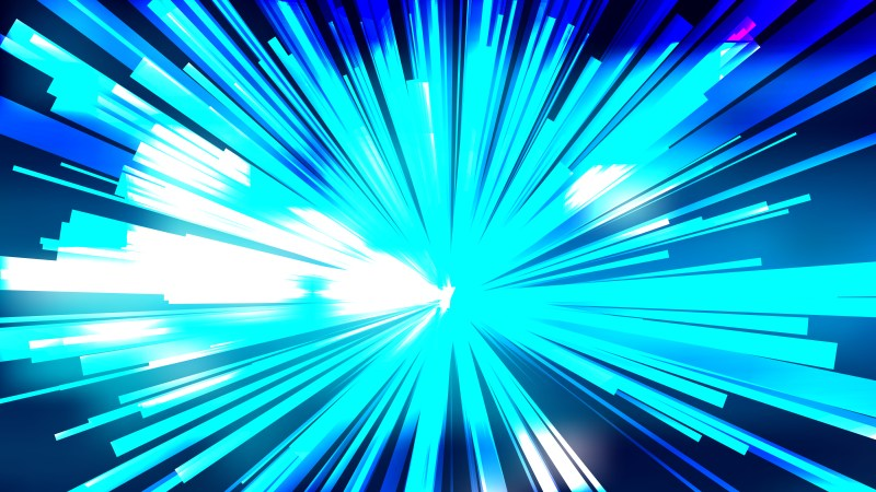 Abstract Blue Black and White Rays Background Vector Graphic
