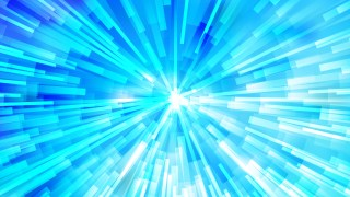 Abstract Bright Blue Radial Explosion Background
