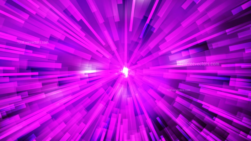 Abstract Bright Purple Light Burst Background