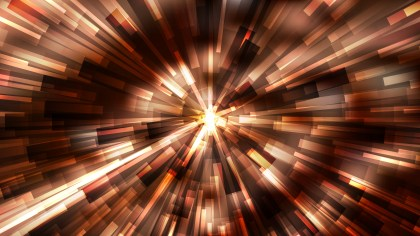 Abstract Coffee Brown Radial Lights Background