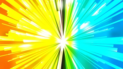 Abstract Colorful Rays Background Illustrator