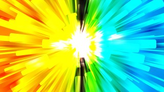 Abstract Colorful Light Burst Background